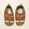 Brown Multitone Leather Sandal