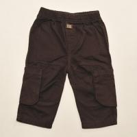 Twill Pants (dark brown)