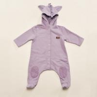 Fleecy Hooded Grow (purple)