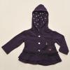 Birdy Fleece Jacket with Spotty Hood
