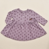 Spotty Dress (purple)
